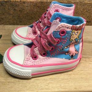 Converse Dr Seuss Cindy Lou Who High Top Sneakers